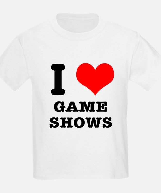 I Heart (Love) Game Shows T-Shirt