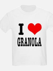 I Heart (Love) Granola T-Shirt