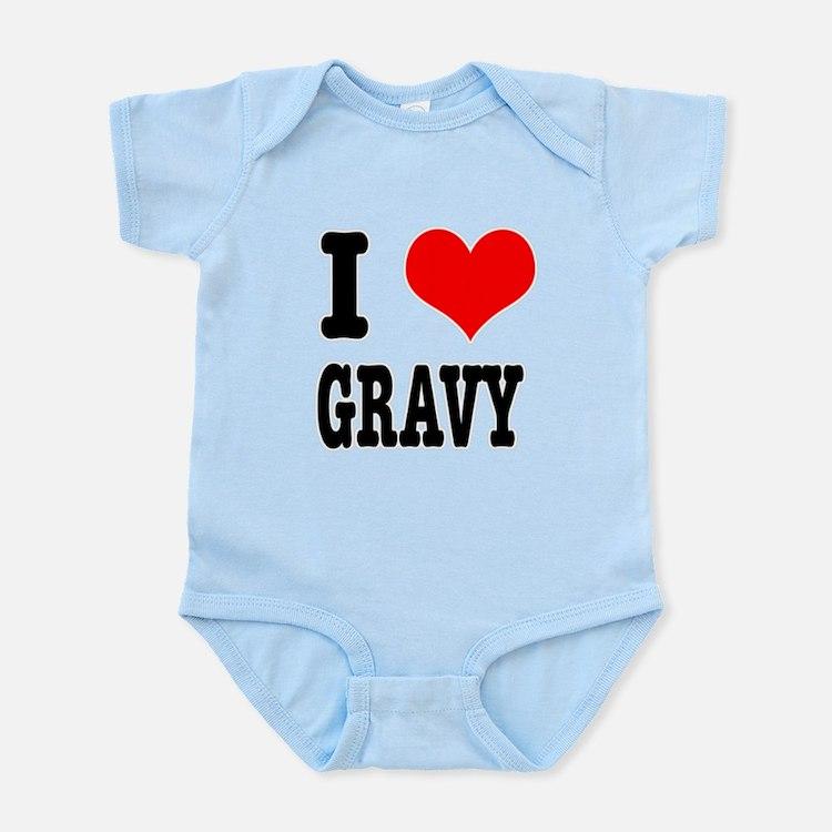 I Heart (Love) Gravy Infant Bodysuit