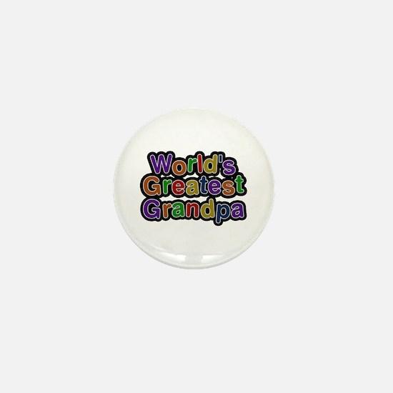 World's Greatest Grandpa Mini Button