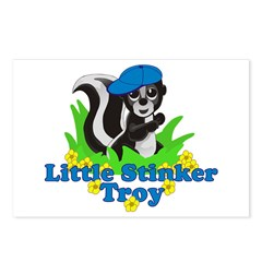 Little Stinker Troy Postcards (Package of 8)
