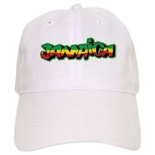 Jamaica Graffiti Baseball Cap