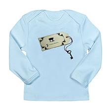 Unbirthday Invitation Long Sleeve Infant T-Shirt