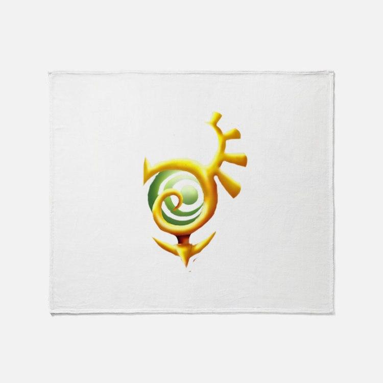 Cute Twilight princess Throw Blanket