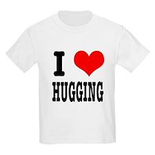 I Heart (Love) Hugging T-Shirt