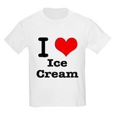 I Heart (Love) Ice Cream T-Shirt