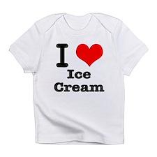 I Heart (Love) Ice Cream Infant T-Shirt