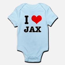 I Heart (Love) Jax Infant Bodysuit