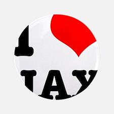 """I Heart (Love) Jax 3.5"""" Button (100 pack)"""