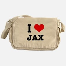 I Heart (Love) Jax Messenger Bag