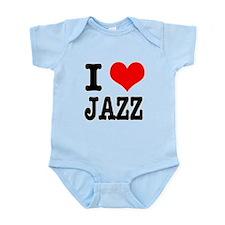 I Heart (Love) Jazz Infant Bodysuit