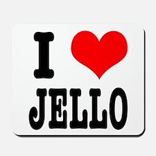 I Heart (Love) Jello Mousepad