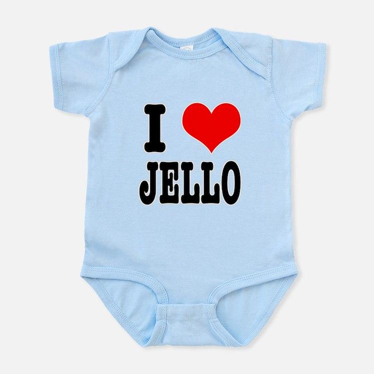 I Heart (Love) Jello Infant Bodysuit