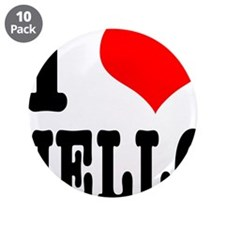 "I Heart (Love) Jello 3.5"" Button (10 pack)"