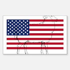 USA Sheep Decal