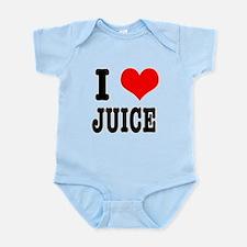 I Heart (Love) Juice Infant Bodysuit