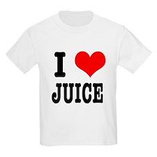 I Heart (Love) Juice T-Shirt