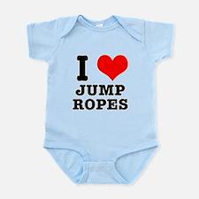 I Heart (Love) Jump Ropes Infant Bodysuit