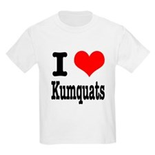 I Heart (Love) Kumquats T-Shirt