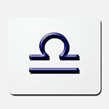 Libra Blue Mousepad