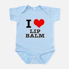 I Heart (Love) Lip Balm Infant Bodysuit