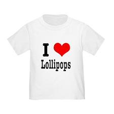 I Heart (Love) Lollipops T