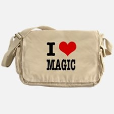 I Heart (Love) Magic Messenger Bag