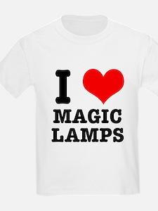 I Heart (Love) Magic Lamps T-Shirt