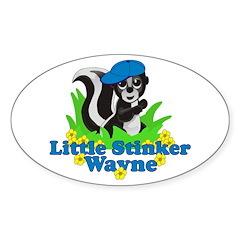 Little Stinker Wayne Decal