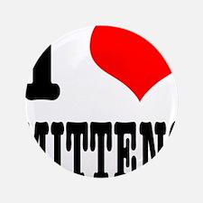 "I Heart (Love) Mittens 3.5"" Button (100 pack)"