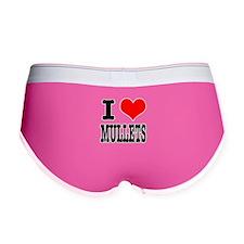 I Heart (Love) Mullets Women's Boy Brief