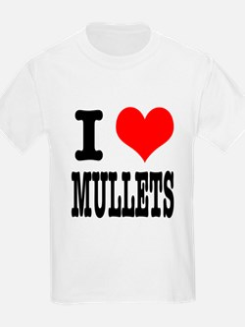 I Heart (Love) Mullets T-Shirt