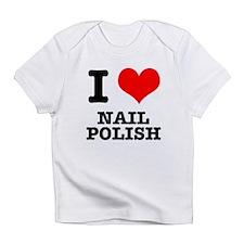 I Heart (Love) Nail Polish Infant T-Shirt