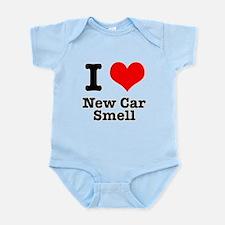 I Heart (Love) New Car Smell Infant Bodysuit