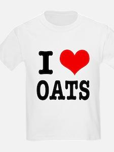 I Heart (Love) Oats T-Shirt