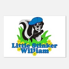 Little Stinker William Postcards (Package of 8)