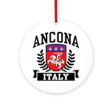 Ancona Italy Ornament (Round)