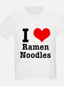 I Heart (Love) Ramen Noodles T-Shirt