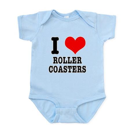 I Heart (Love) Roller Coaster Infant Bodysuit