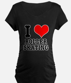 I Heart (Love) Roller Skating T-Shirt