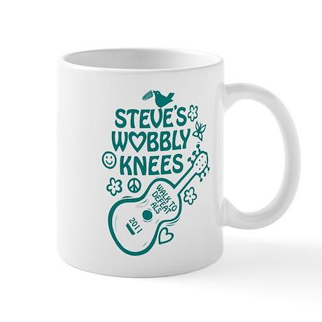 Steve's Wobbly Knees 2011 Mug