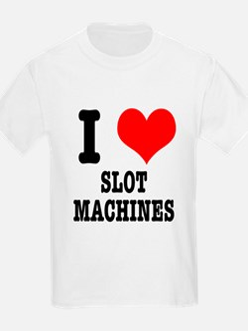 I Heart (Love) Slot Machines T-Shirt