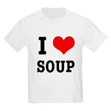 I Heart (Love) Soup T-Shirt