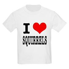 I Heart (Love) Squirrels T-Shirt