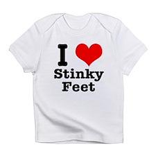 I Heart (Love) Stinky Feet Infant T-Shirt