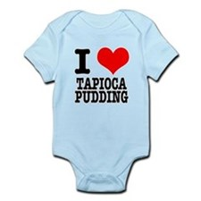 I Heart (Love) Tapioca Puddin Infant Bodysuit