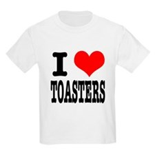 I Heart (Love) Toasters T-Shirt