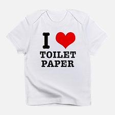 I Heart (Love) Toilet Paper Infant T-Shirt