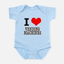 I Heart (Love) Vending Machin Infant Bodysuit
