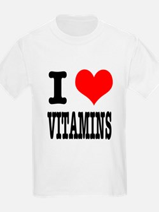 I Heart (Love) Vitamins T-Shirt
